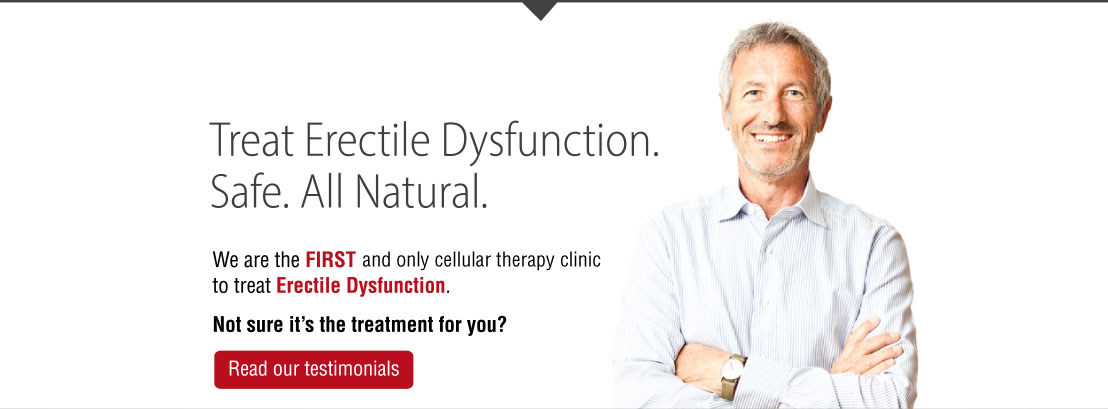 Erectile Dysfunction, How to treat ED and improve your sex life | stem cell treatment clinic